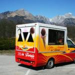furgone gelateria mobile