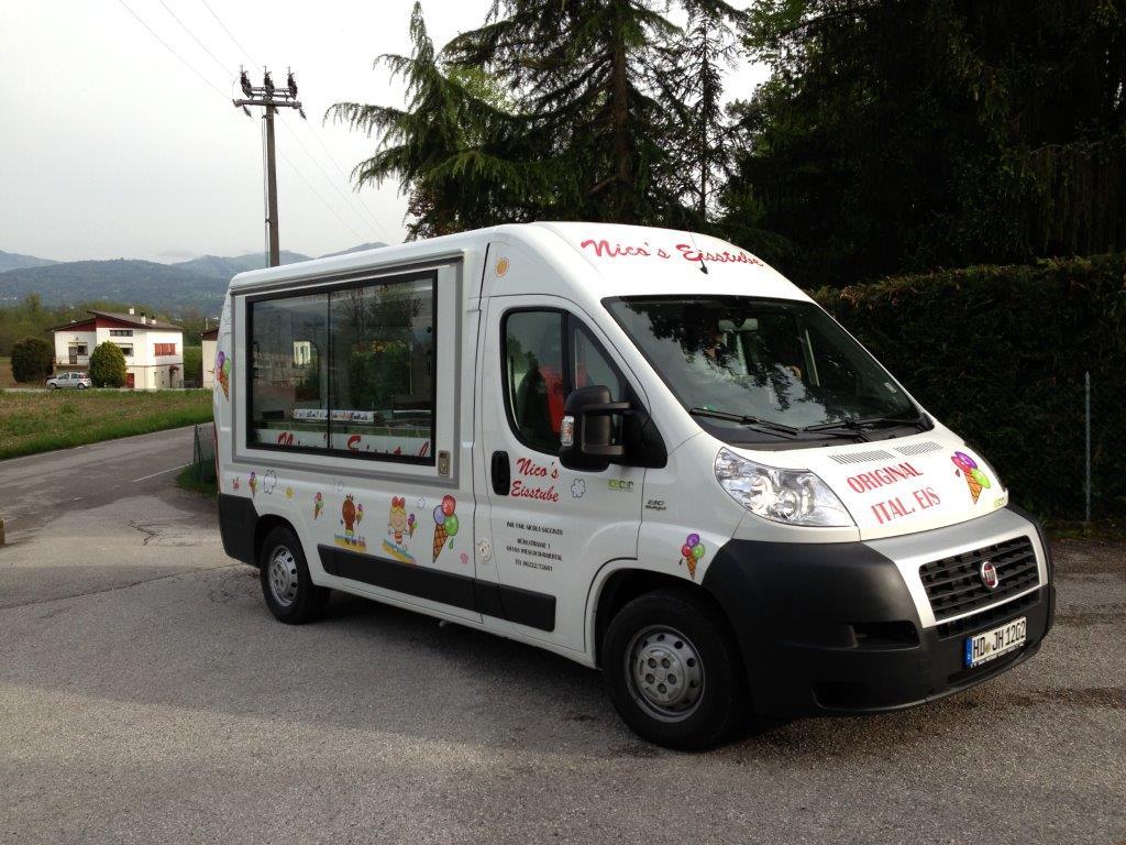 furgone gelato ambulante