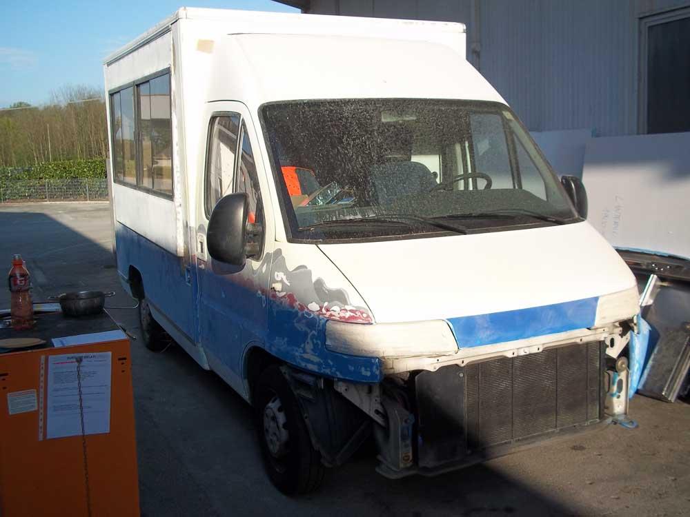 furgone gelato usato restyling