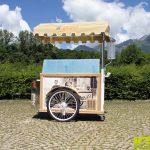 carretto gelati legno