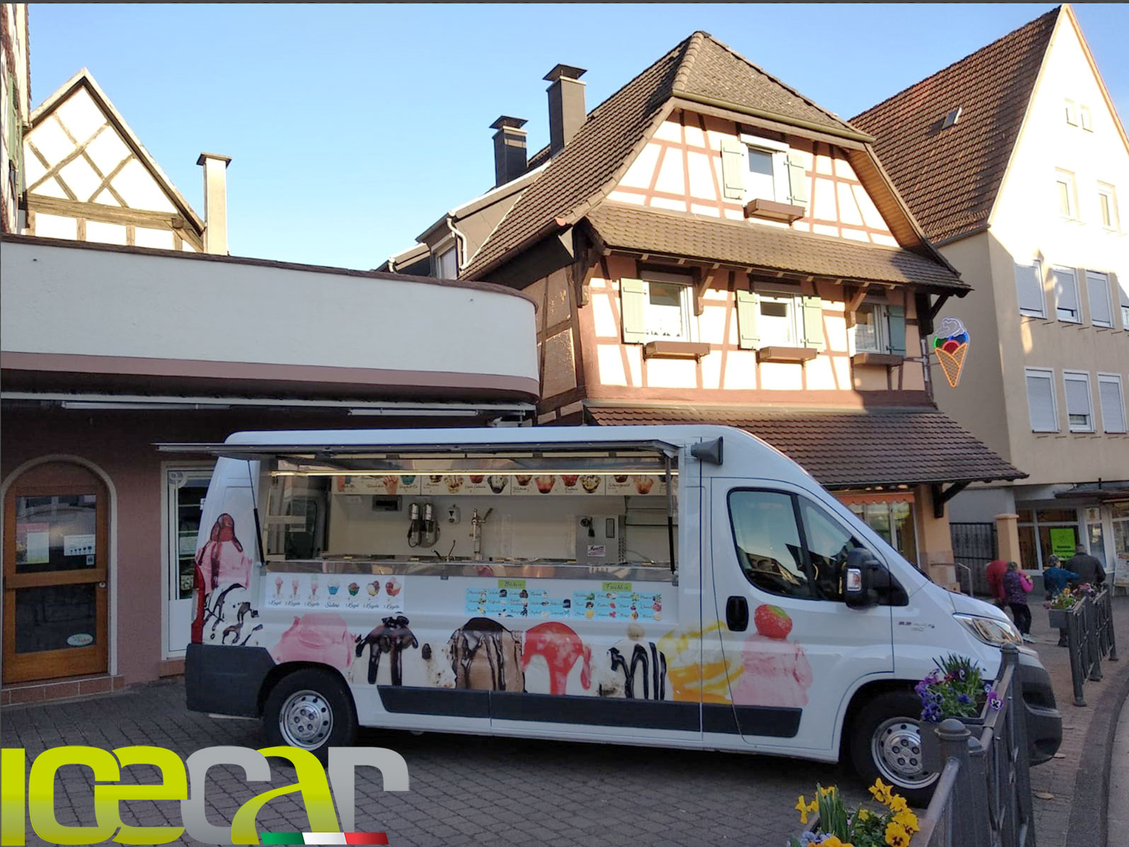 Gelateria ambulante in Germania