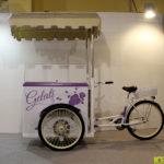 triciclo gelato artigianale