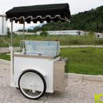 carretto gelato bianco